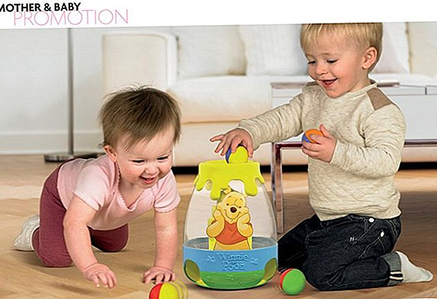Alles is liefje! Met The New Winnie The Pooh Post 'N' Roll Hunny Pot