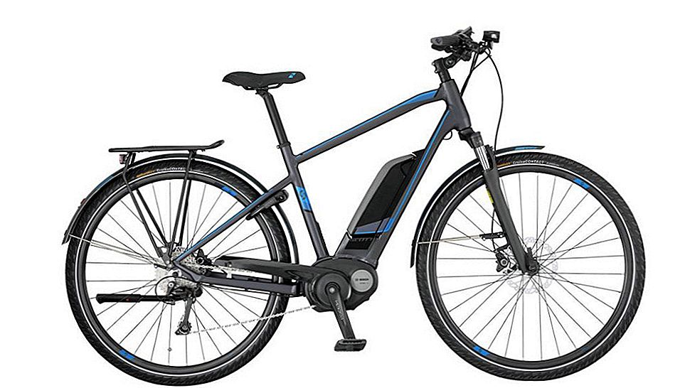Scott E-Sub Tour Electric Bike pregled: Commuter's Dream