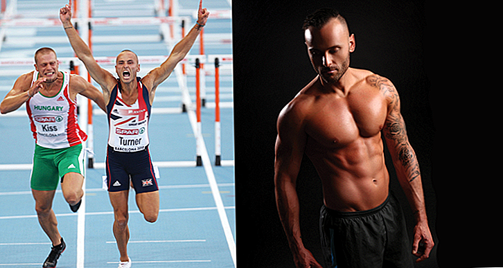 Andy Turner: od GB hurdlerja do bodybuilderja