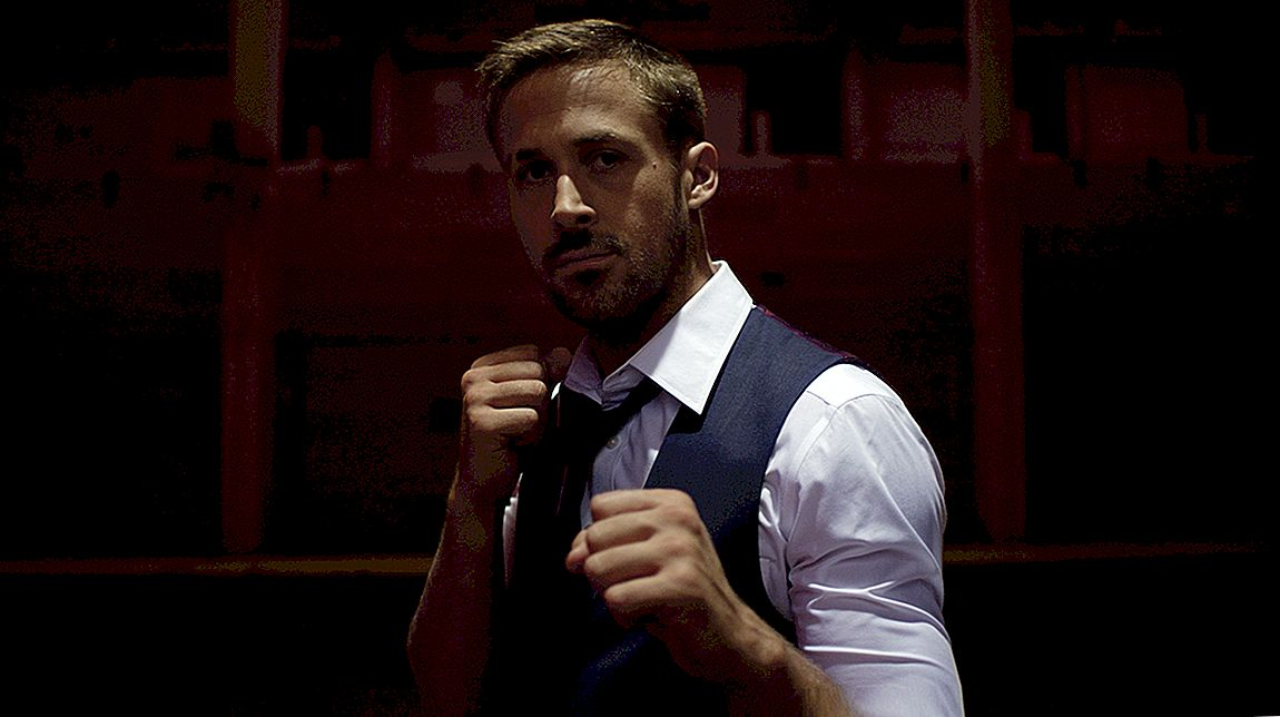 Latihan abs Ryan Gosling
