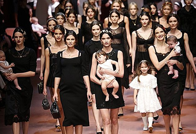 Dolce & Gabbana tähistavad meid Milan Fashion Week'is