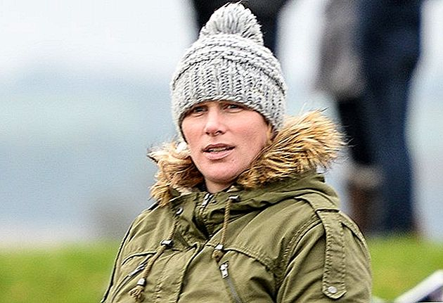 Royal Mum-To-Be Zara Phillips pakāpieni High Street Maternity Buy