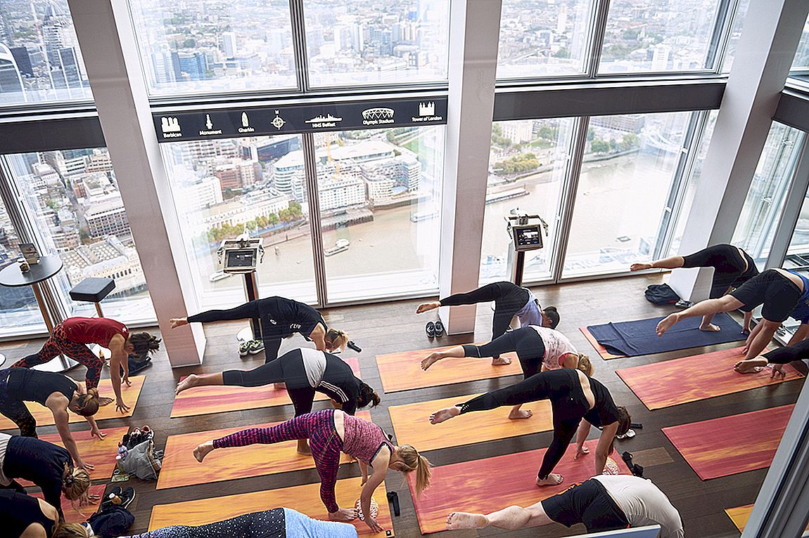 Yoga At The Shard Fueled By California Walnuts!