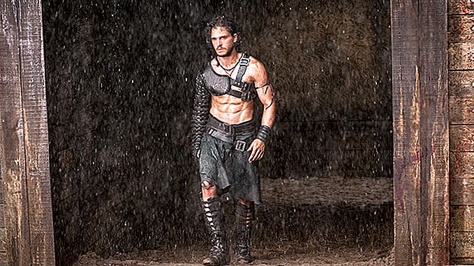 Latihan Pompeii Kit Harington