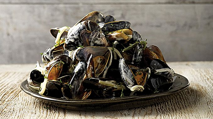 Muskelbygging Moules Marinière oppskrift
