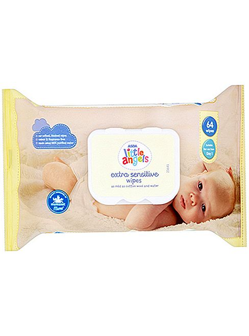 Asda Little Angels Ekstra Sensitive Baby Wipes Review