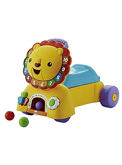 Fisher-Price Sit, Stride & Ride Lion pregled