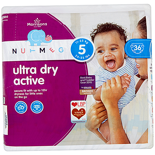 Kajian Morrisons Nutmeg Ultra Dry Active Nappies