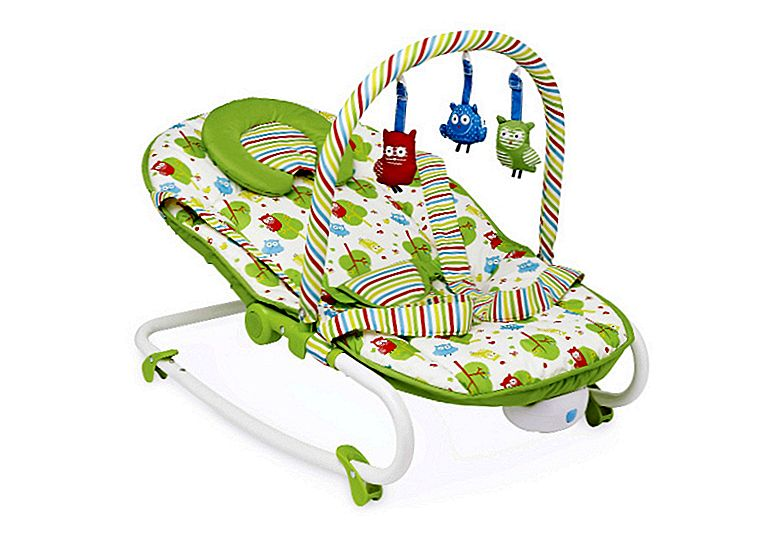 Ulasan Mothercare Owls 2-in-1 Rocker and Bouncer