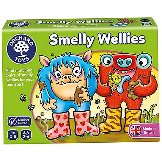 Ulasan Orchard Toys Smelly Wellies