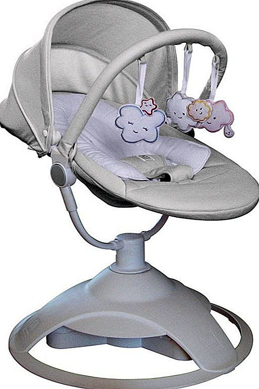 Rdeči grad Cloudzz Baby Bouncer Review