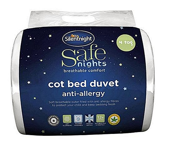 Silentnight Safe Nights Anti Allergi Cot Bed Duvet Review