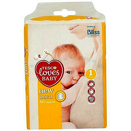 Tesco Loves Baby Newborn Mappies Review