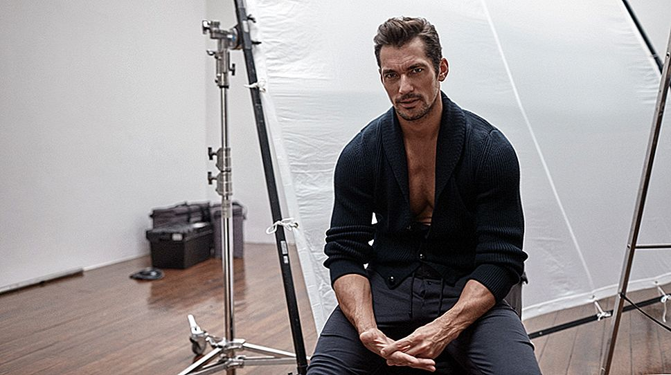 David Gandy: mees taga mudel